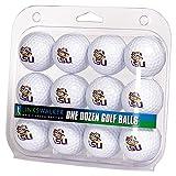 LinksWalker 1 Dozen ProVictory Opt Collegiate Golf Ball Pack - LSU Tigers