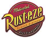qualityprint Rust Eze Cars Decor Vinyl Sticker 14'' X 12''