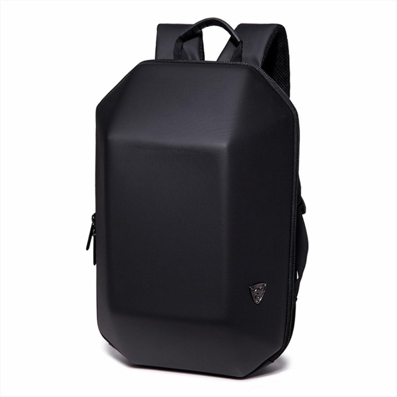 Hard Shell Backpack, Creative Trend AntiTheft Computer Bag Large Capacity Waterproof Travel Geometric Backpack