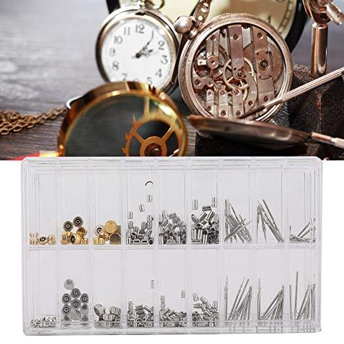 【𝐎𝐬𝐭𝐞𝐫𝐧】 Uhr Crown Set, Professional Uhr Crown Tube Steam Set Uhr Reparatur Zubehör Uhren Teile