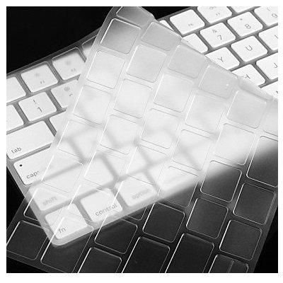 i-Buy Ultradünn klar TPU Tastaturschutz Kompatibel für Apple Magic Keyboard, Tastatur Schutzfolie Cover Haut [EU-Layout] - TPU