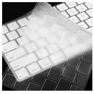 i-Buy Teclado Cubierta para Apple Magic Keyboard, Ultra Delgado Keyboard Cover TPU Pegatinas Teclado Skin Protectora Piel...