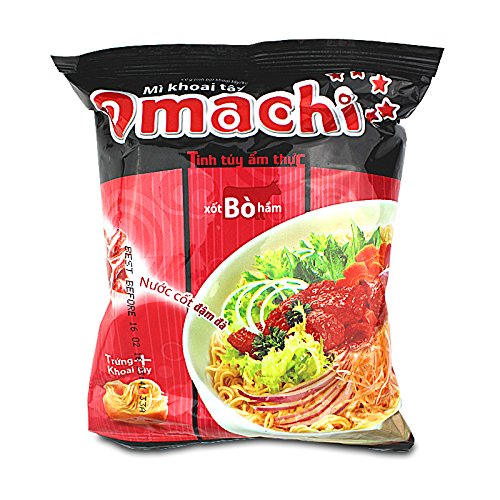 Omachi Instant Nudelsuppe mit Rindgeschmack 80g