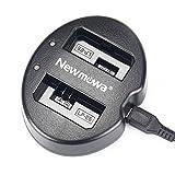 Newmowa USB Cargador Doble para Canon LP-E5 Canon EOS Rebel XS Rebel T1i Rebel XSi 1000D 500D 450D Kiss X3 Kiss X2 Kiss F …