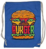 Urban Backwoods Burger Bolsa de Cuerdas con Cordón Gimnasio