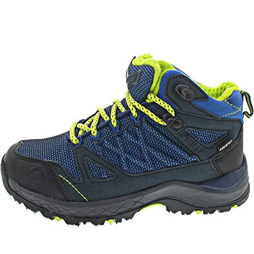 McKINLEY Kona Mid IV AQX Walking-Schuh, Navy/Blue/Yellow, 35 EU