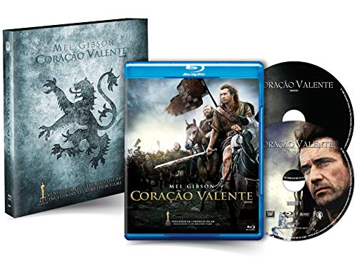 Coração Valente [Blu-ray Duplo com Luva] - Exclusivo Amazon