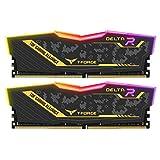 Team RGB(発光型) DDR4 3200Mhz(PC4-25600) 8GBx2枚(16GBkit) ASUS TUF Gaming Allianceモデル デスクトップ用メモリ ハイスピードタイプ 日本国内無期限保証