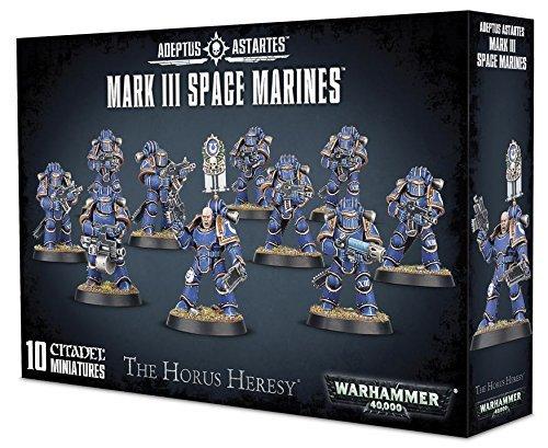 """Games Workshop 99120101170"""" Mark III Space Marines"""