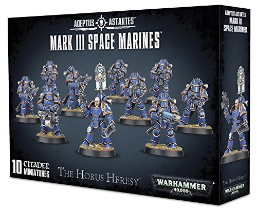 "Games Workshop 99120101170"" Mark III Space Marines"
