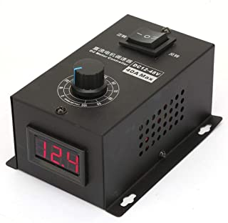 ICQUANZX DC Motor Speed Controller PWM 12V~48V 40A Brush Motor Governor Speed Control Module Electric Controller 1200W 25kHZ