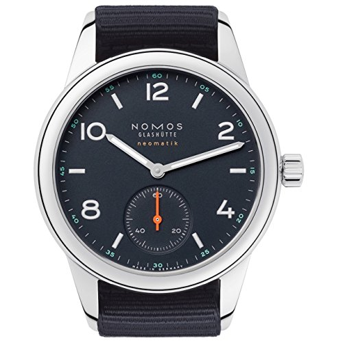 Nomos Club Neomatik Automatic Atlantic Blue Dial Men's Watch 741