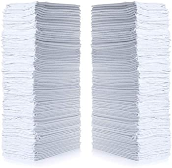 "Simpli-Magic 79006-100PK Shop Towels 14""x12"" White 100 Pack"