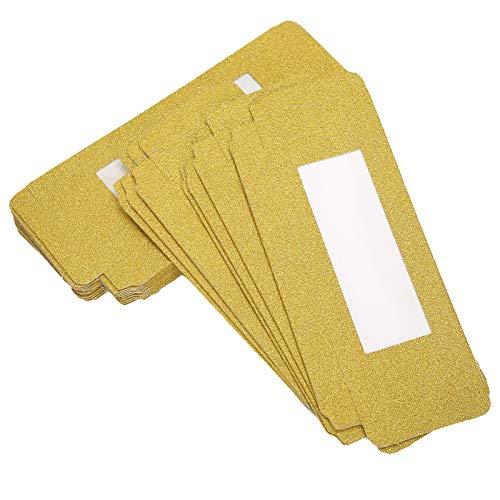 Boîte de rangement pour cils, boîte d'emballage de cils 20PCS, petite taille pour les amoureux des cils fabricant de faux cils,(Golden)