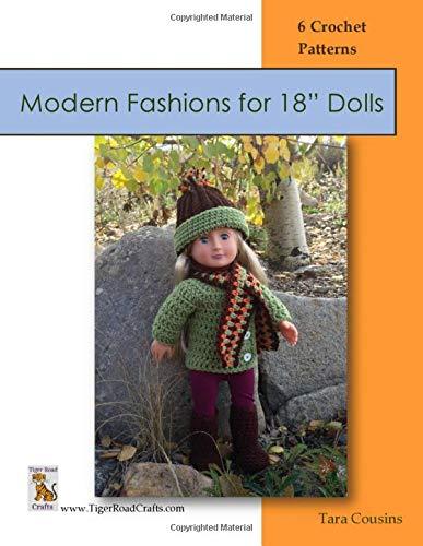 "Modern Fashions for 18"" Dolls: 6 Crochet Patterns (Kirsten's Doll Closet) (Volume 1)"