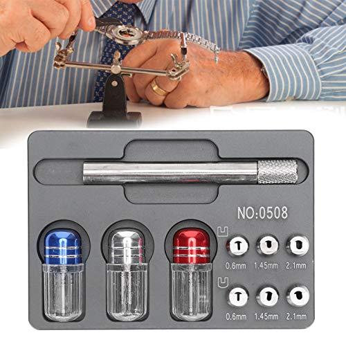 Herramienta de reparación de relojes, removedor de mano de reloj profesional Accesorio de reparación de reloj Herramienta de extracción de puntero Herramienta de relojero Accesorio de extracción