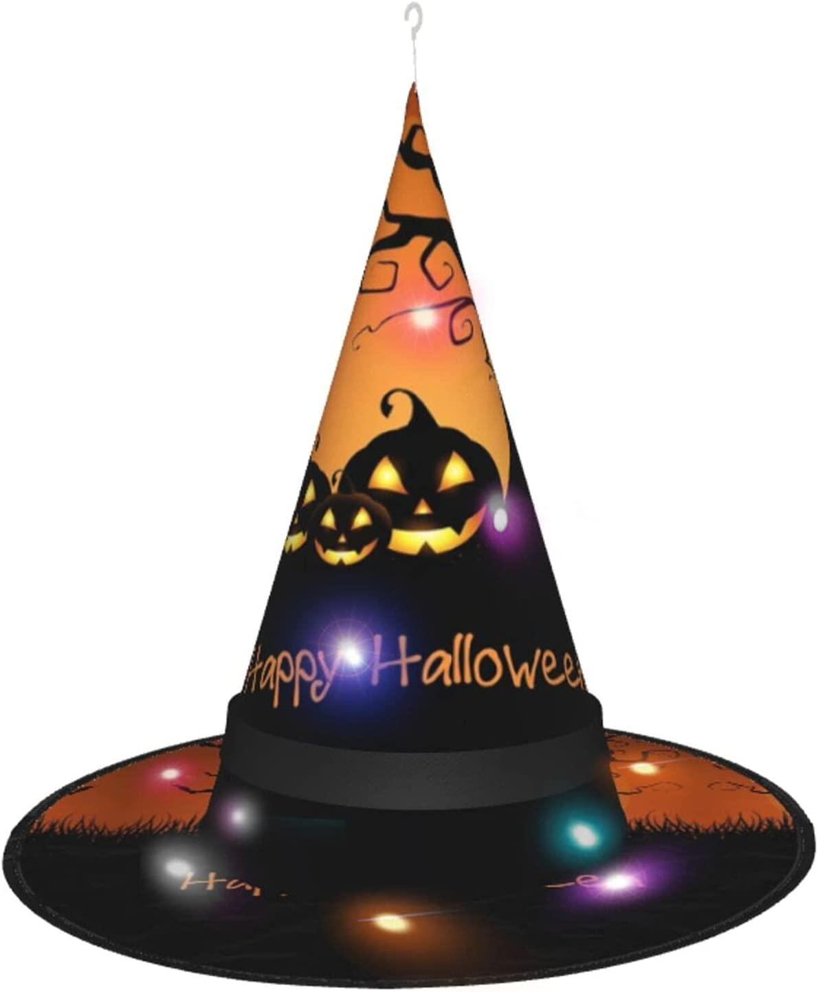 New York Special price Mall Halloween Witch Hat Pumpkin Costume Accessory Hallowee