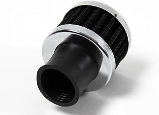 Filter Kurbelgehäuse Entlüftung CHROM 25mm Anschluss SCHWARZ EDEL 1099233