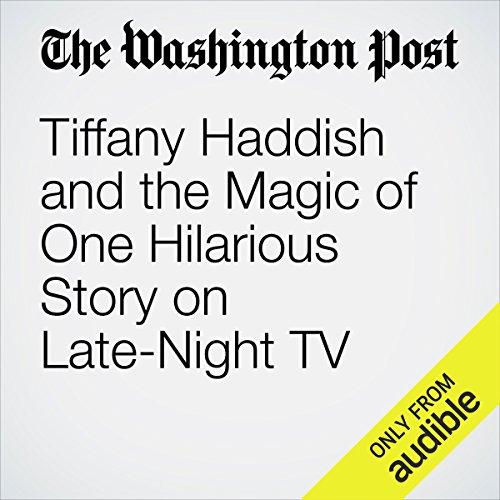 Tiffany Haddish and the Magic of One Hilarious Story on Late-Night TV copertina