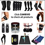 CAMBIVO 2 Pack Knee Brace, Knee Compression Sleeve Support for Men and Women, Running, Hiking, Arthritis, ACL, Meniscus Tear, Sports…