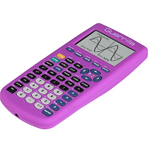 Guerrilla Silicone Case for Texas Instruments TI-83 Plus Graphing Calculator, Purple Photo #8