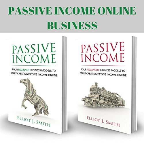 Passive Income Online Business audiobook cover art
