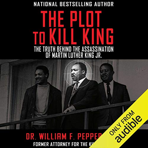 The Plot to Kill King audiobook cover art