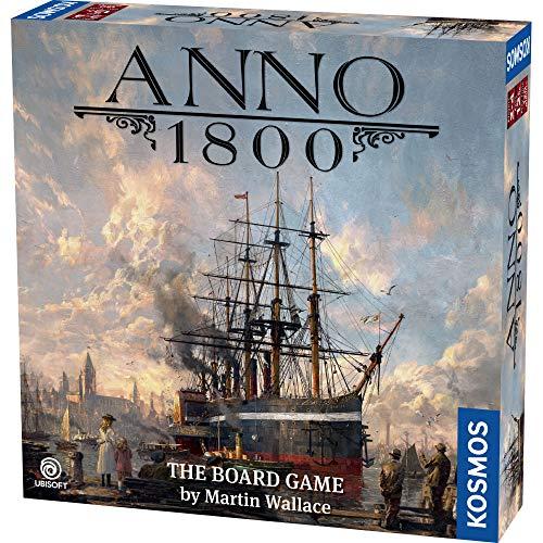 Themse und Kosmos | 680428 | Anno 1800 | Brettspiel | Strategiespiel | Ubisoft Entertainment | Martin Wallace | ab 12 Jahren