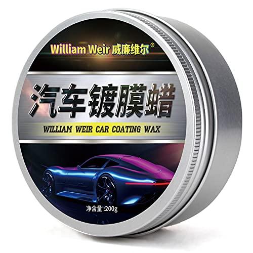 likeitwell Nuestra Cera de automóvil Puede Proporcionar una increíble suavidad Que pule la Cera Impermeable con el Recubrimiento antiincrustante para el automóvil, Nuestra Cera de automóvil Unusual
