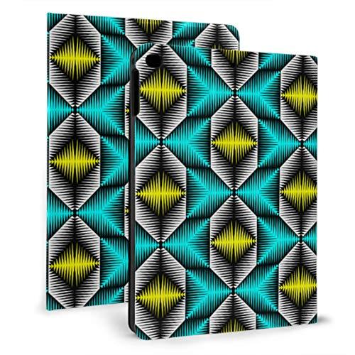 Ipad Protection Case Geometric Colorful Abstract Art Durable Ipad Case For Ipad Mini 4/mini 5/2018 6th/2017 5th/air/air 2 With Auto Wake/sleep Magnetic Ipad Case