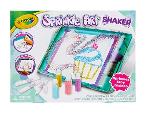 CRAYOLA 747298 Sprinkle Art Shaker Craft Toy, Multi
