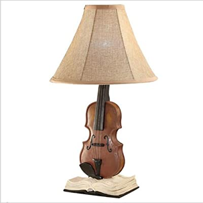 Lámparas de Escritorio Lámpara de mesa creativa del violín ...