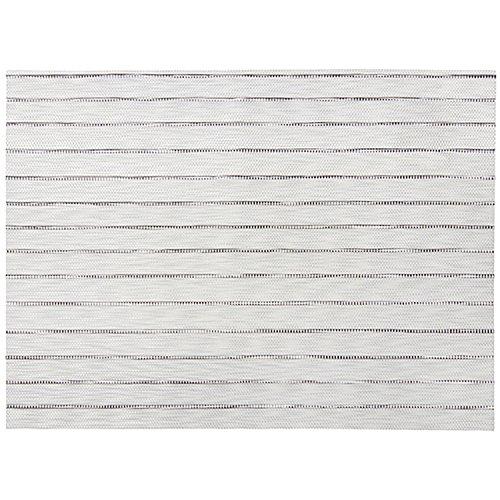 Winkler - Set de table Manoka – 33x45 cm – Napperon rectangle facile à nettoyer - Résistant et déperlant – Motif élégant à rayures