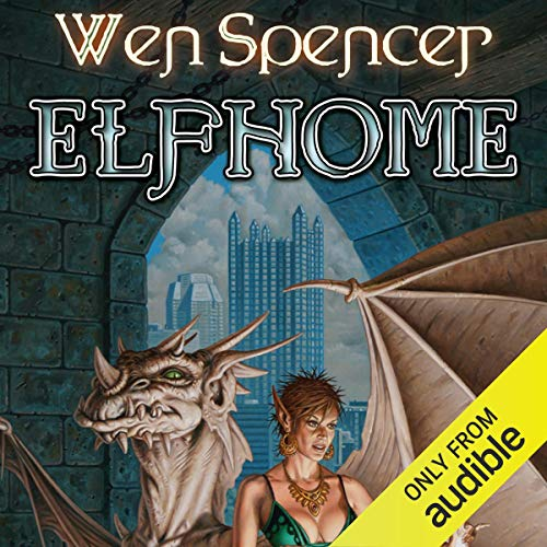 Elfhome audiobook cover art