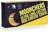 Moonchers Huesos masticables para Perros Naturales y duraderos   Chuches de Queso saludables Bajas en Grasa   Huesos dentales para Perros alternativos al Cuero Crudo   Barritas sin Gluten (100g x 2)