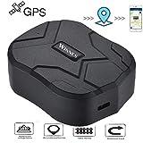 Hangang Traceur GPS Longue Autonomie 150 Jours en Veille Suivi en Temps Réel Véhicules Tracker GPS Magnetique Étanche pour Voiture Camion Moto TK905B
