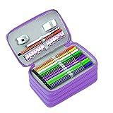 BTSKY Handy Wareable Oxford Colored Pencil Case 72...