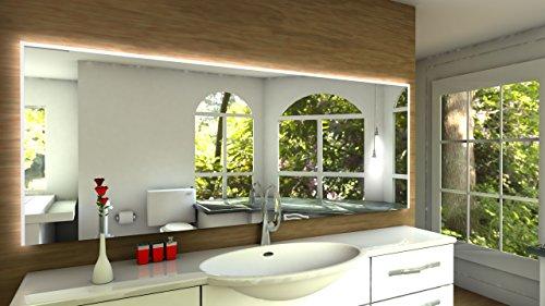 Laon Badspiegel mit LED Beleuchtung - B: 170 cm x H: 80 cm