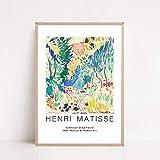 Carteles e impresiones de Matisse vintage pintura de arte corporal abstracto imágenes de plantas coloridas pintura de lienzo sin marco familiar E 70x100cm
