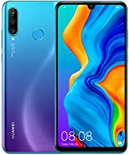 "Huawei P30 Lite (128GB, 4GB RAM) 6.15"" Display, AI Triple Camera, 32MP Selfie, Dual SIM GSM Factory Unlocked MAR-LX3A - US..."