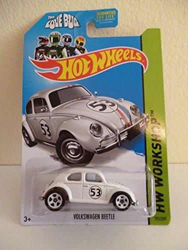 2014 Hot Wheels Hw Workshop Herbie The Love Bug Volkswagen Beetle - [Ships in a Box!]