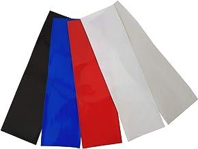 2 m accu-krimpkous PVC van 20 mm tot 200 mm vlakmaat, kleurkeuze, kleur: transparant, maat: 50 mm