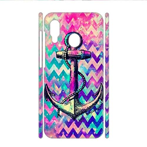 Desconocido Generic Compatible toRigid Plastic Shells Hipster Printing Anchor 2 For Womon Samsung Galaxy A30