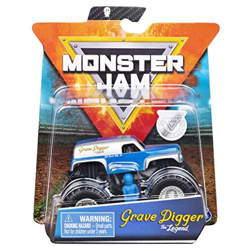 Monster Jam - Single Pack 1:64, Grave Digger The Legend