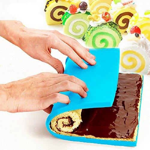 Tapis de cuisson anti-adhésif en silicone pour pâtisserie