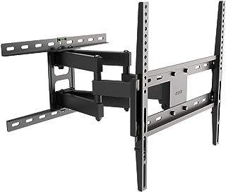 BESTEK テレビ壁掛け金具 26~60インチ LED液晶テレビ対応 壁面・水平調節 角度調整可能 黒 BTTM0430E