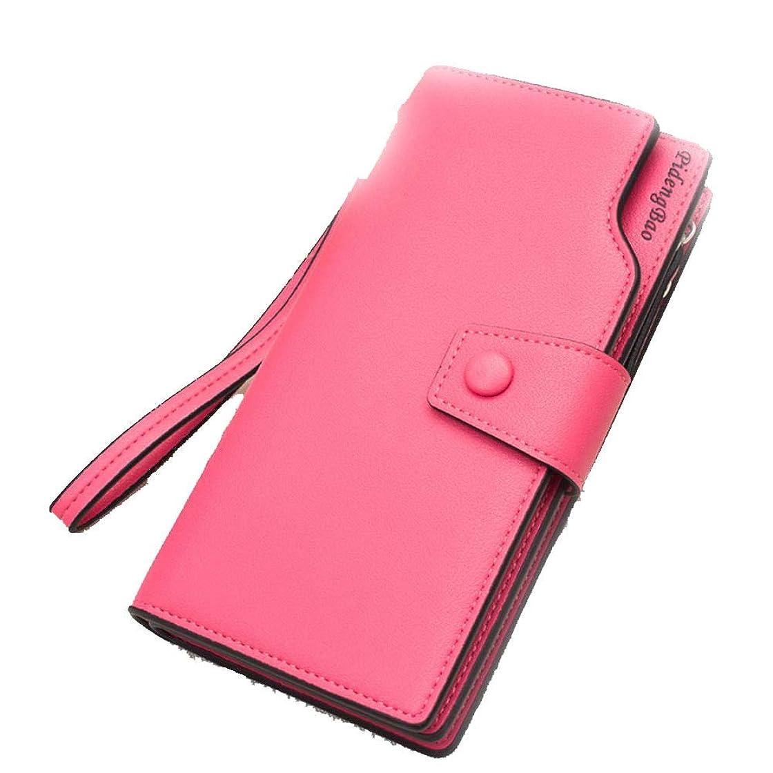 共同選択準備ができてレオナルドダクラッチバッグの女性の財布カジュアル多機能ロングジッパーバックル女性のマルチカラーの携帯電話バッグ