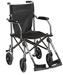 Drive TraveLite Lightweight Folding Wheelchair