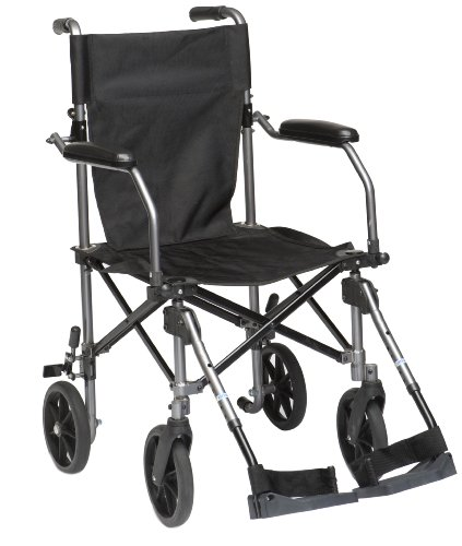 Drive TraveLite Lightweight Aluminium Folding Transport Chair in a Bag