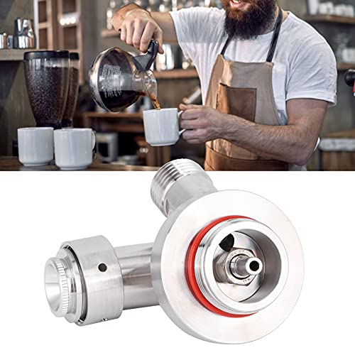 Dispensador de Grifo de Barril de café, dispensador de Barril pequeño, Accesorios para Hacer café con nitrógeno Suministros de elaboración Artesanal de Barril de Cerveza Growler Homebrew Spear